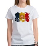 Andorra Flag Women's T-Shirt