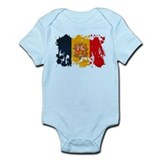 Andorra Flag Infant Bodysuit
