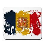 Andorra Flag Mousepad