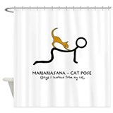 Marjariasana - Cat Pose - things I learned Shower