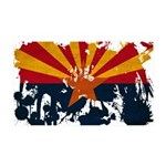 Arizona Flag 38.5 x 24.5 Wall Peel