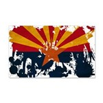 Arizona Flag 22x14 Wall Peel