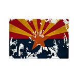 Arizona Flag Rectangle Magnet (10 pack)
