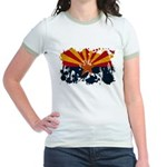 Arizona Flag Jr. Ringer T-Shirt