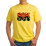 Arizona Flag Yellow T-Shirt