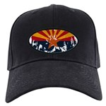 Arizona Flag Black Cap
