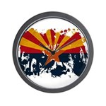 Arizona Flag Wall Clock