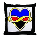 Cute Poly Throw Pillow