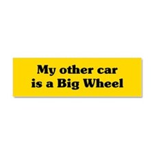 Big Wheel Car Magnet 10 x 3