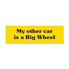 Big Wheel Car Magnet 10 x 3