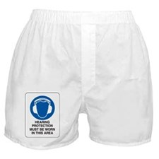 HEARING PROTECTION Boxer Shorts