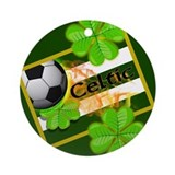 CELTIC FOOTBALL Ornament (Round)