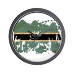 Botswana Flag Wall Clock