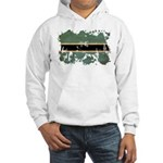 Botswana Flag Hooded Sweatshirt