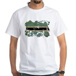 Botswana Flag White T-Shirt