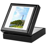 Ocracoke Lighthouse. Keepsake Box