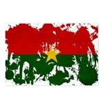 Burkina Faso Flag Postcards (Package of 8)