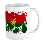Burkina Faso Flag Large Mug