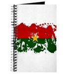 Burkina Faso Flag Journal