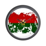 Burkina Faso Flag Wall Clock