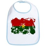 Burkina Faso Flag Bib