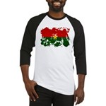 Burkina Faso Flag Baseball Jersey