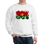 Burkina Faso Flag Sweatshirt