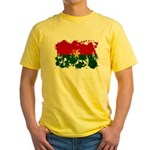 Burkina Faso Flag Yellow T-Shirt