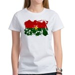 Burkina Faso Flag Women's T-Shirt