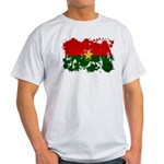 Burkina Faso Flag Light T-Shirt