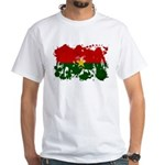 Burkina Faso Flag White T-Shirt