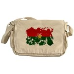 Burkina Faso Flag Messenger Bag