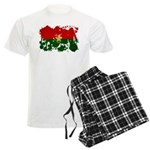 Burkina Faso Flag Men's Light Pajamas