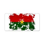 Burkina Faso Flag Aluminum License Plate
