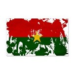 Burkina Faso Flag 22x14 Wall Peel