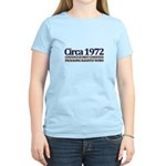 Funny 40th Gifts, Circa 1972 Women's Light T-Shirt