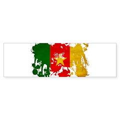 Cameroon Flag Sticker (Bumper 10 pk)