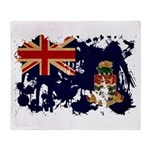 Cayman Islands Flag Throw Blanket