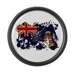 Cayman Islands Flag Large Wall Clock