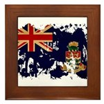 Cayman Islands Flag Framed Tile