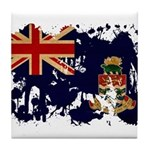 Cayman Islands Flag Tile Coaster