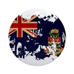 Cayman Islands Flag Ornament (Round)