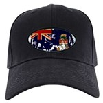 Cayman Islands Flag Black Cap