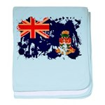 Cayman Islands Flag baby blanket