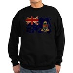 Cayman Islands Flag Sweatshirt (dark)