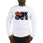 Cayman Islands Flag Long Sleeve T-Shirt
