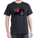 Cayman Islands Flag Dark T-Shirt