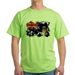 Cayman Islands Flag Green T-Shirt