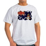 Cayman Islands Flag Light T-Shirt