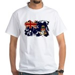 Cayman Islands Flag White T-Shirt